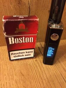 E-Zigarette schädlich