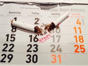 Rauchen aufhören Zigarette