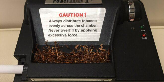 elektrisches Zigarettenstopfgerät